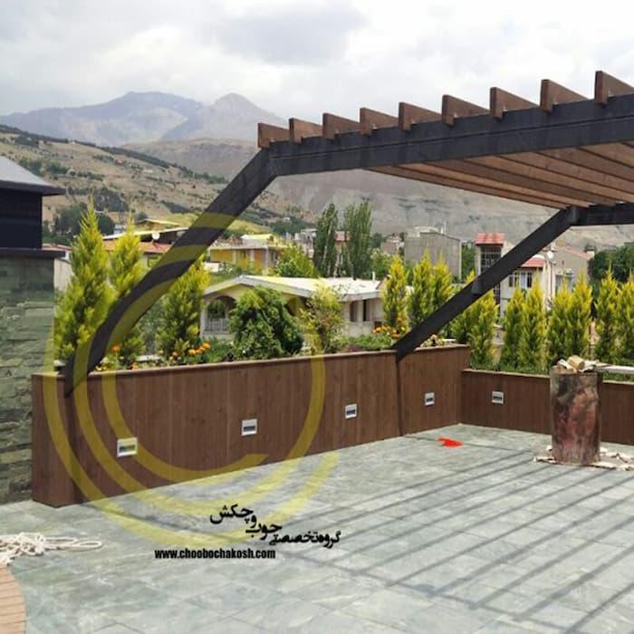 بام سبز بسیار زیبا جذاب توسط شرکت چوب و چکش cover