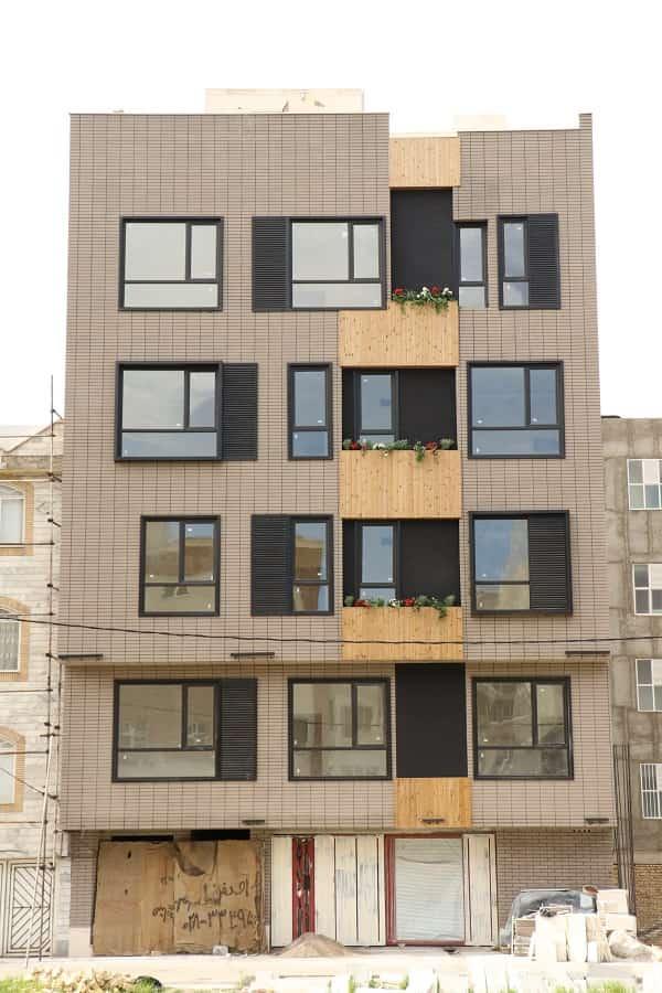 طراحی متفاوت نمای ساختمان با استفاده از ترموود